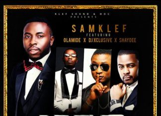 Samklef ft. Olamide, DJ Xclusive & ShayDee - LIVING LARGE Artwork | AceWorldTeam.com