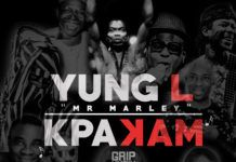 Yung L - KPAKAM (prod. by E-Kelly) Artwork | AceWorldTeam.com