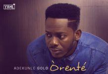 adekunleGOLD - ORENTE [prod. by Oscar] Artwork | AceWorldTeam.com
