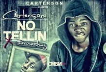 Carterson ft. Pherowshuz - NO TELLIN Artwork | AceWorldTeam.com