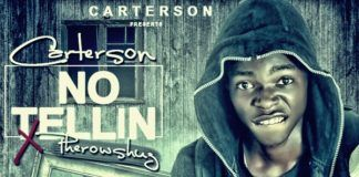 Carterson ft. Pherowshuz - NO TELLIN Artwork | AceWorldTeam.com