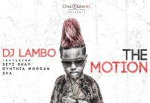DJ Lambo ft. Seyi Shay, Cynthia Morgan & Eva Alordiah - THE MOTION (prod. by Chopstix & Reinhard) Artwork | AceWorldTeam.com