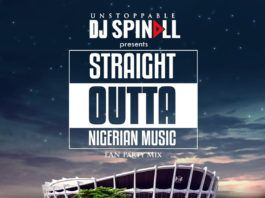 DJ Spinall - STRAIGHT OUTTA NIGERIAN MUSIC (Fan Party Mix) Artwork | AceWorldTeam.com