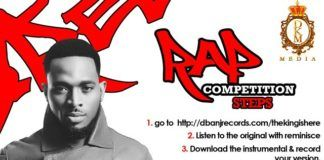 D'banj ft. Reminisce - THE KING IS HERE (Instrumental) | COMPETITION Artwork | AceWorldTeam.com