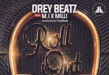 Drey Beatz ft. M.I & Milli - ROLL OUT Artwork | AceWorldTeam.com