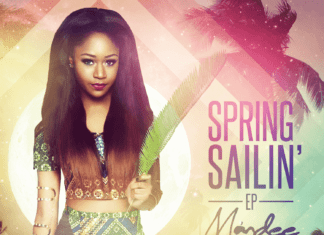 Màndee - SPRING SAILIN' (EP) Artwork | AceWorldTeam.com