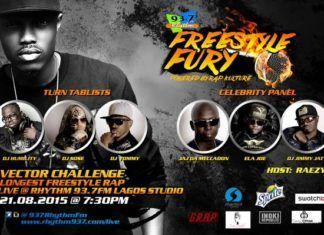 Rhythm 93.7FM's Rap Kulture Freestyle Fury Advert Artwork | AceWorldTeam.com