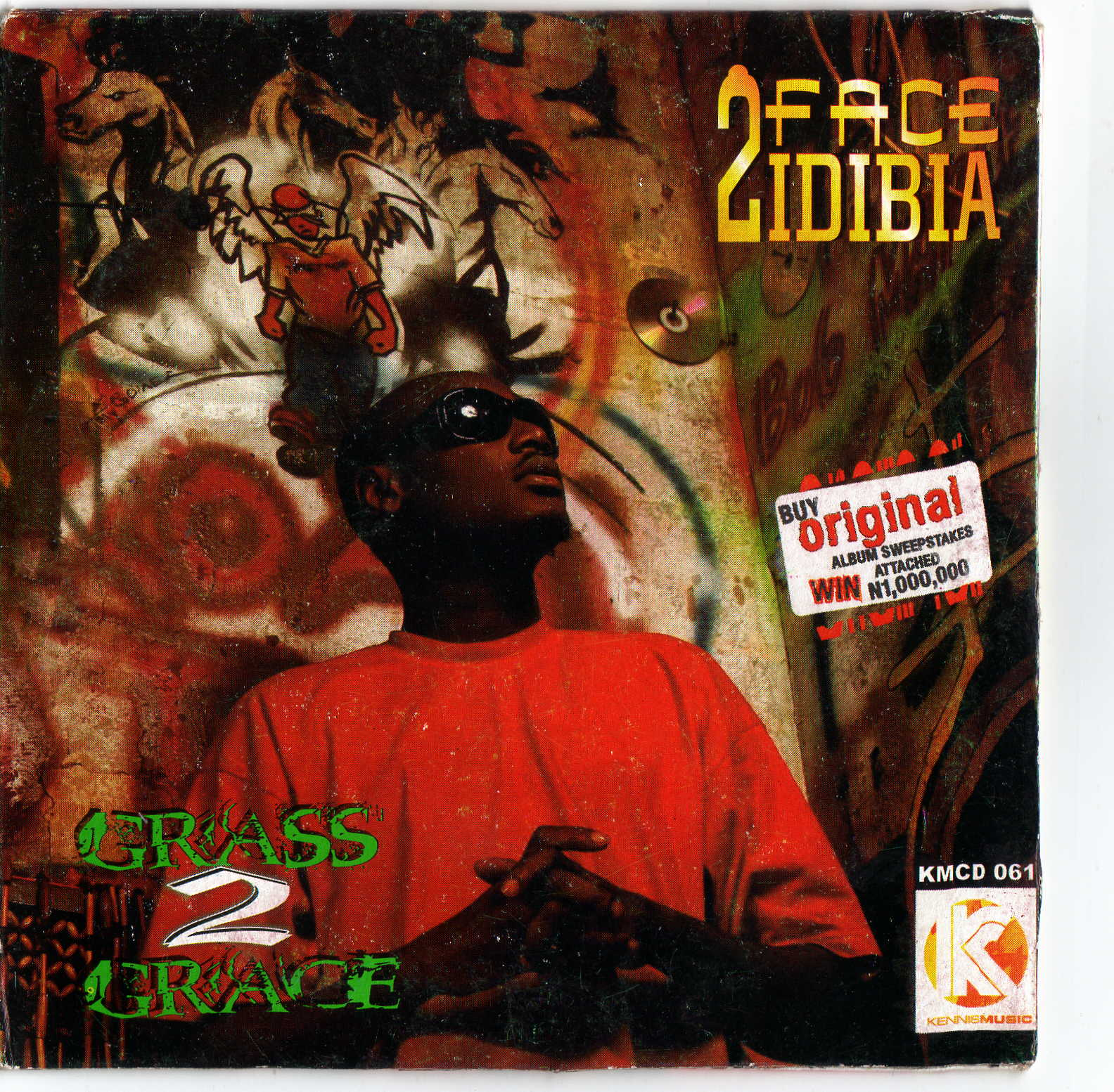 Throwback 2face Idibia