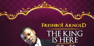 FreshBoi Arnold - THE KING IS HERE (D'banj Cut) Artwork | AceWorldTeam.com