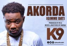 K9 - AKORDA (Gimme Dat ~ prod. by Reflex Soundz) Artwork | AceWorldTeam.com