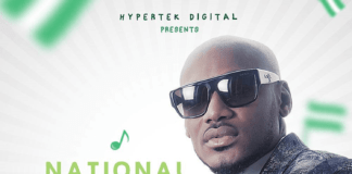 2face Idibia - NATIONAL ANTHEM (prod. by Bolji Beatz) Artwork | AceWorldTeam.com