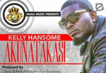 Kelly Hansome - AKUNATAKASI (prod. by Otyno) Artwork | AceWorldTeam.com