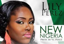 Lily Perez - NEW NIGERIA (prod. by VC Perez) Artwork | AceWorldTeam.com