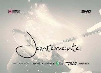 Mavins ft. Don Jazzy, Tiwa Savage, Dr. SID, Korede Bello, D'Prince, Reekado Banks & Di'Ja - JANTAMANTA Artwork | AceWorldTeam.com