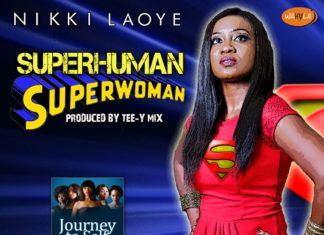 Nikki Laoye - SUPERHUMAN, SUPERWOMAN (prod. by Tee-Y Mix) Artwork | AceWorldTeam.com