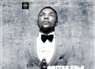 Oritse Femi - GIVE THANKS (prod. by Obodo) Artwork | AceWorldTeam.com