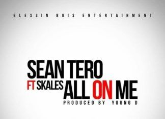 Sean Tero ft. Skales - ALL ON ME (prod. by Young D) Artwork | AceWorldTeam.com