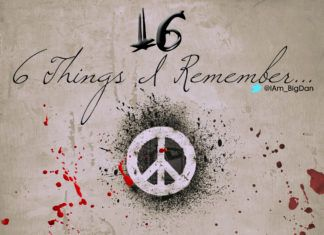 16 _ 6 Things I Remember ...written by BigDan Artwork | AceWorldTeam.com