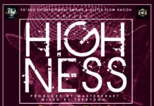 DJ Leks ft. JaymOnI Swaggz & Yung Tushy - HIGHNESS (prod. by MasterKraft) Artwork | AceWorldTeam.com