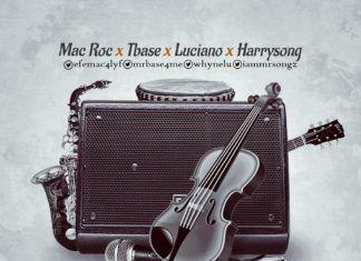Mac Roc ft. T-Base, Luciano & Harrysong - REGGAE BLUES (Rock Version) Artwork | AceWorldTeam.com