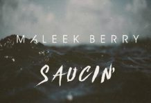 Maleek Berry - SAUCIN' (a Post Malone cover) Artwork | AceWorldTeam.com
