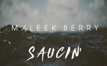 Maleek Berry - SAUCIN' (a Post Malone cover) Artwork | AceWorldTeam.com