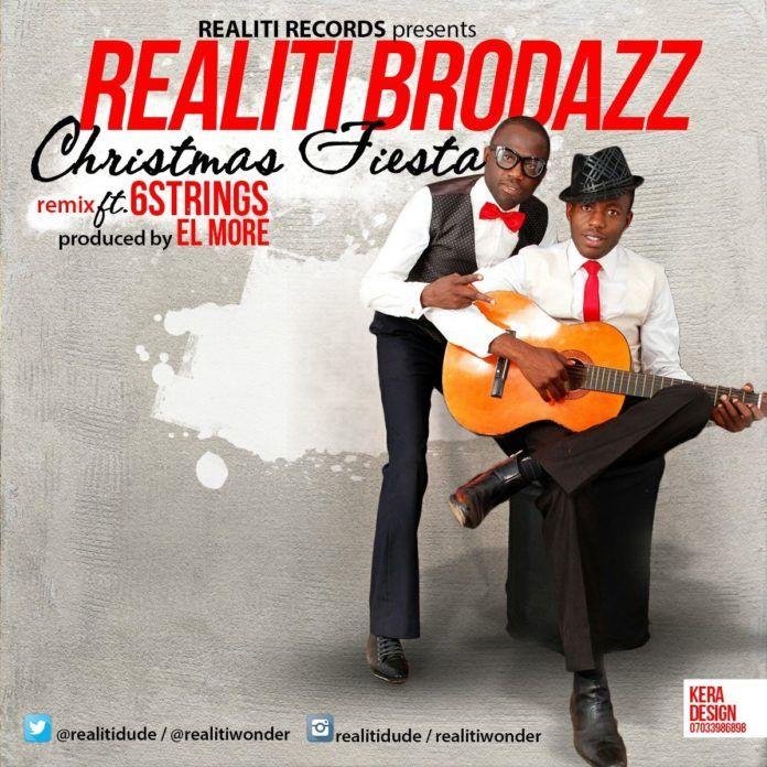 Realiti Brodazz ft. 6Strings - CHRISTMAS FIESTA Remix (prod. by El-More) Artwork   AceWorldTeam.com