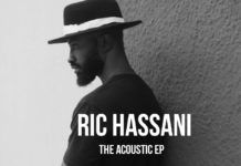 Ric Hassani - THE ACOUSTIC (EP) Artwork | AceWorldTeam.com
