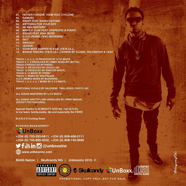 T.R - G.O.D (EP) Tracklist Artwork | AceWorldTeam.com