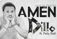 Dillo ft. Fela Kuti - AMEN (prod. by Yung Toz) Artwork | AceWorldTeam.com