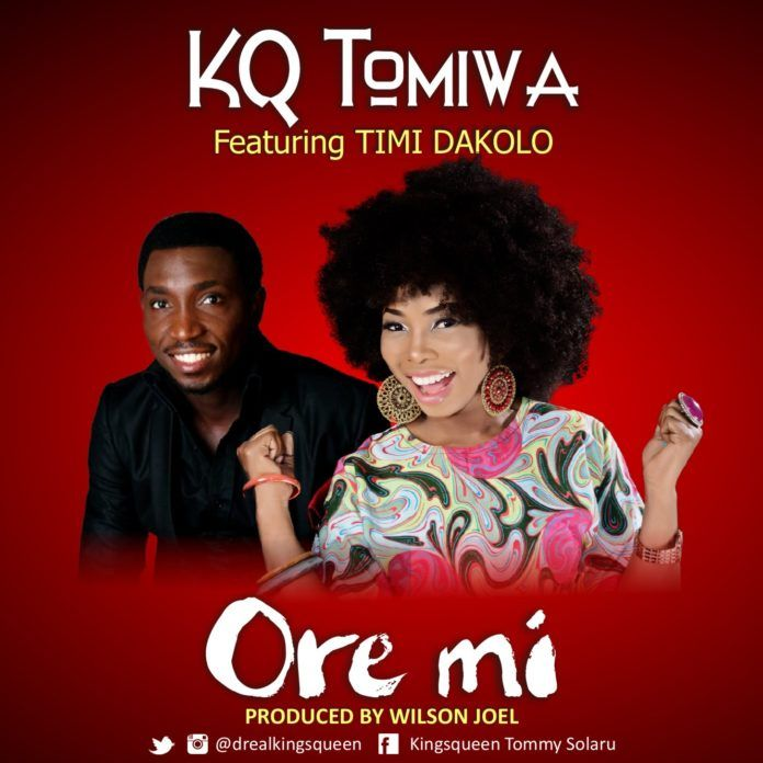 KQ Tomiwa ft. Timi Dakolo - ORE MI (prod. by Wilson Joel) Artwork | AceWorldTeam.com