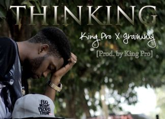 King'Pro (formerly Pro'Meth) ft. Graimmy theSOH - THINKING Artwork | AceWorldTeam.com