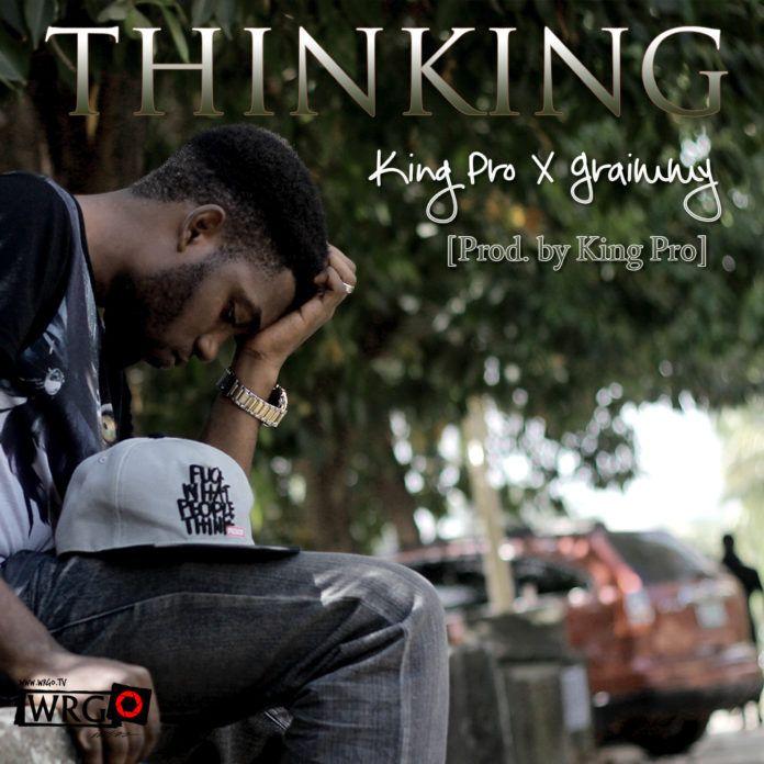 King'Pro (formerly Pro'Meth) ft. Graimmy theSOH - THINKING Artwork | AceWorldTeam.com