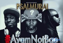 Psalmurai ft. Tha Suspect & Trigmatic - #AYAMNOTBAE Artwork | AceWorldTeam.com
