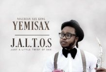 Yemi Sax - J.A.L.T.O.S (Just A Little Twist Of Sax) Artwork | AceWorldTeam.com