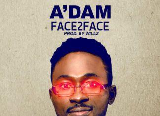 A'dam - FACE 2 FACE (prod. by Willz) Artwork   AceWorldTeam.com