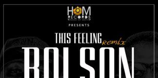 Bolson ft. Reminisce - THIS FEELING Remix (prod. by GospelOnDeBeatz) Artwork | AceWorldTeam.com