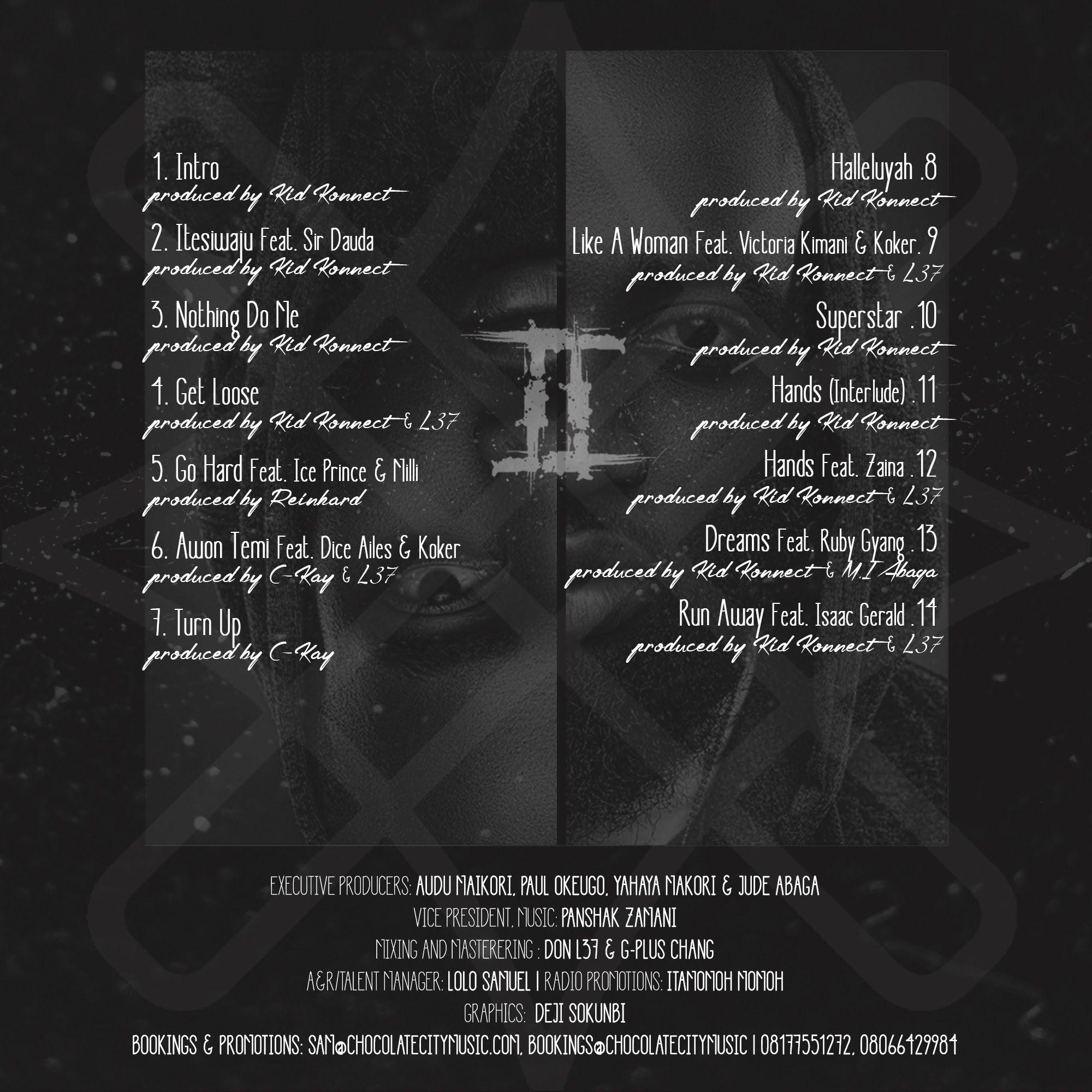 Loose Kaynon - THE GEMINI PROJECT (Mixtape) Back Artwork | AceWorldTeam.com