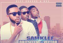 Samklef ft. Oritse Femi & Vector - AYENLO (Remix) Artwork | AceWorldTeam.com