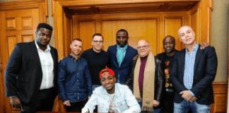 Sony Music Issue Press Statement; Confirms DavidO's Signing...   AceWorldTeam.com