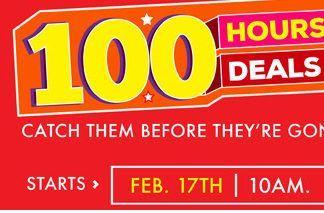100 Hours 100 Deals