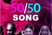 2Baba, Waje & Ice Prince - 50/50 Artwork | AceWorldTeam.com