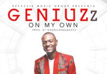 GeniuZz - ON MY OWN (prod. by GospelOnDeBeatz) Artwork | AceWorldTeam.com