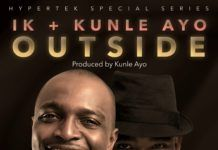 IK Osakioduwa & Kunle Ayo - OUTSIDE (a 2face Idibia Ballad) Artwork | AceWorldTeam.com