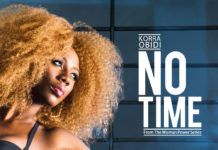 Korra Obidi - NO TIME (prod. by Fliptyce) Artwork | AceWorldTeam.com