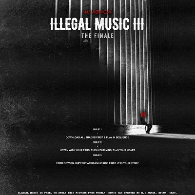 M.I - ILLEGAL MUSIC 3 (The Finale) Artwork | AceWorldTeam.com