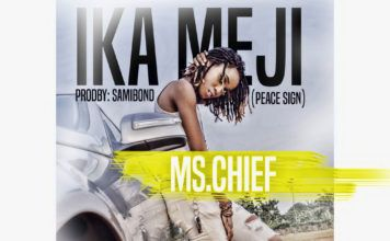 Ms. Chief - IKA MEJI (Peace Sign ~ prod. by Samibond) Artwork | AceWorldTeam.com