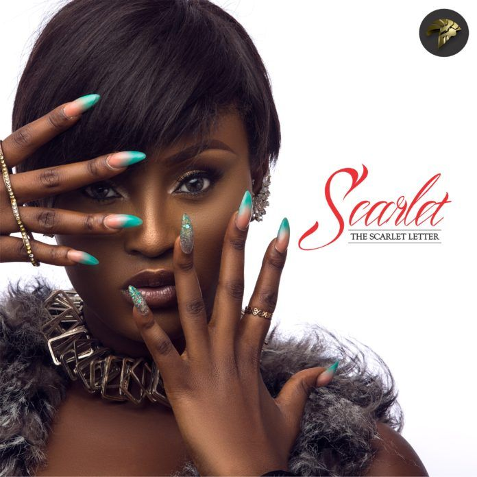 Scarlet - THE SCARLET LETTER (EP) Artwork | AceWorldTeam.com