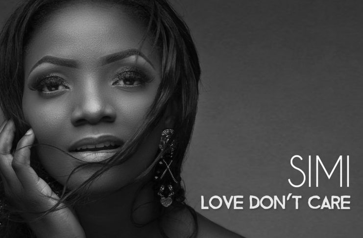 Simi - LOVE DON'T CARE (prod. by Oscar Heman-Ackah) Artwork | AceWorldTeam.com