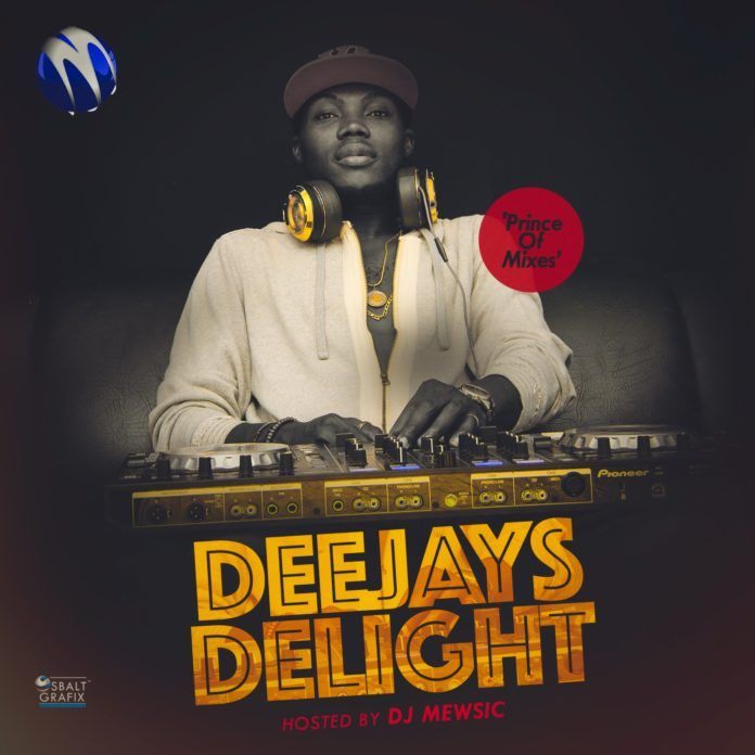 DJ Mewsic - DJ's DELIGHT (Mixtape) Artwork | AceWorldTeam.com